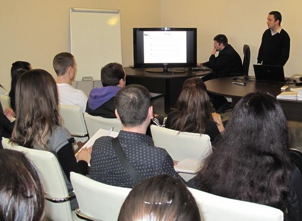 Студенти от УНСС преминаха обучение по системи за управление на бизнеса, водено от ERP.BG
